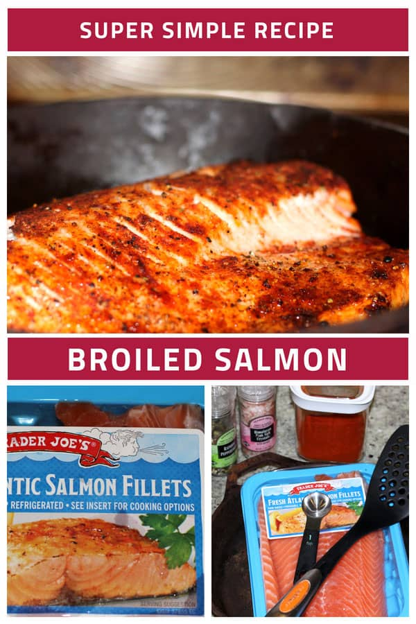 Recipe Steps to make Broiled Salmon
