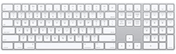Apple Wireless Keyboard with Number Pad