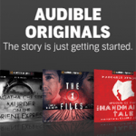 Gift ideas for friends who work at home: An Audible Subscription