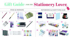 Ultimate Gift Guide for the Stationery Lover in Your Life