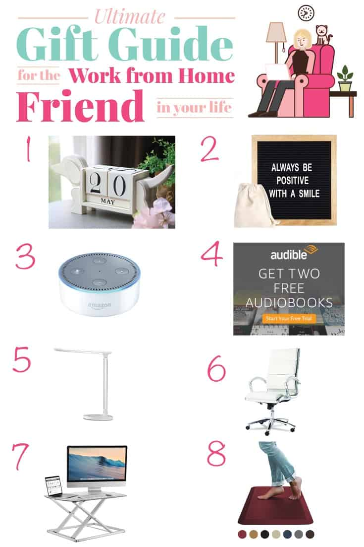 Ultimate Gift Guide for the Work from Home Friend in your life