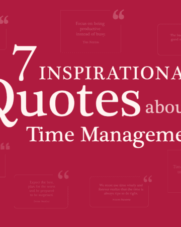 7 inspiring quotes about time management