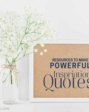8 excellent resources to make powerful inspirational quotes