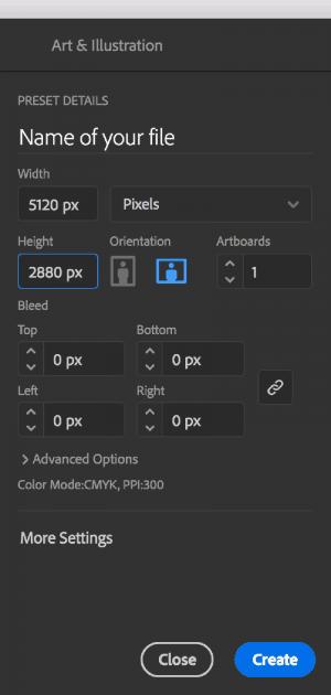 Tutorial Step 1: Create a custom background