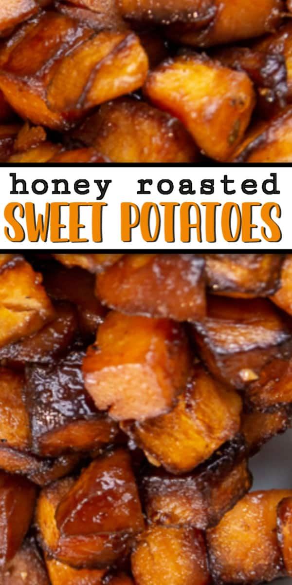 Easy Recipe to make Honey Roasted Sweet Potatoes