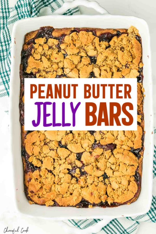 Easy PBJ Dessert Bar recipe