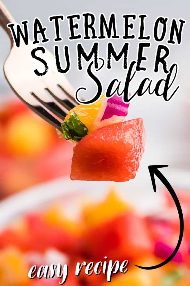 The Best Watermelon and Orange Salad Recipe
