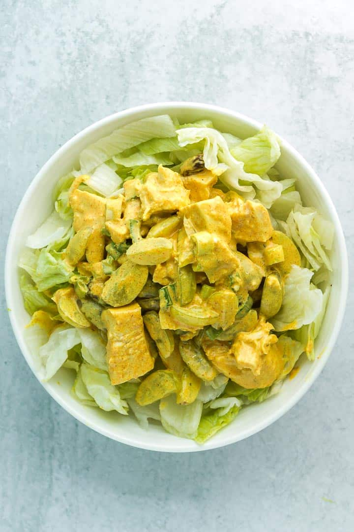 The Best Curry Salad with Grapes Recipe