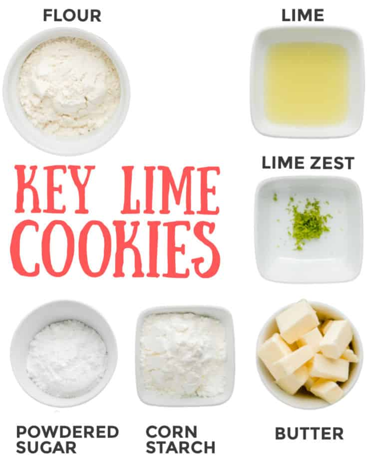 5-Ingredient Key Lime Cookie Recipe