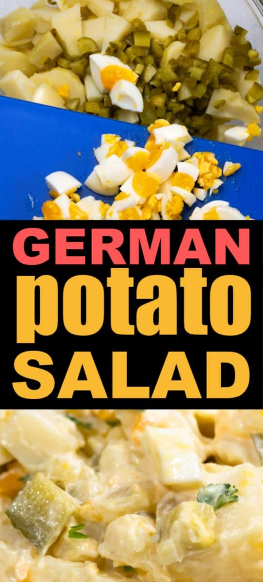 5 ingredient homemade German Potato Salad