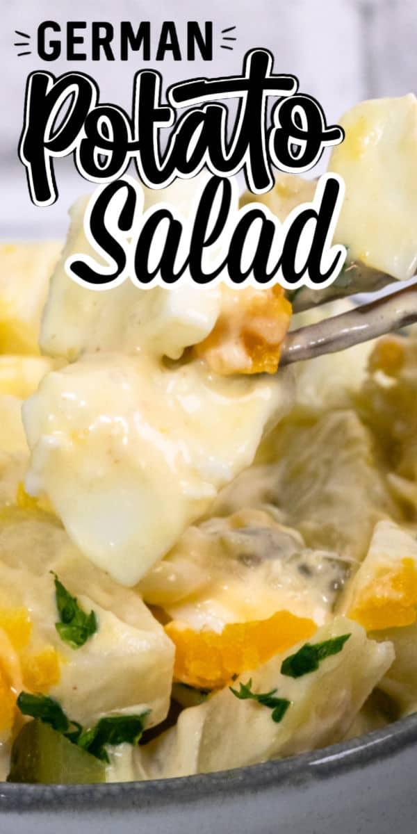 5 ingredient German Potato Salad salad