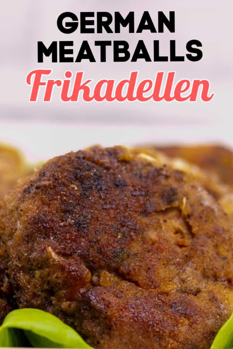 Frikadellen - German Meatballs