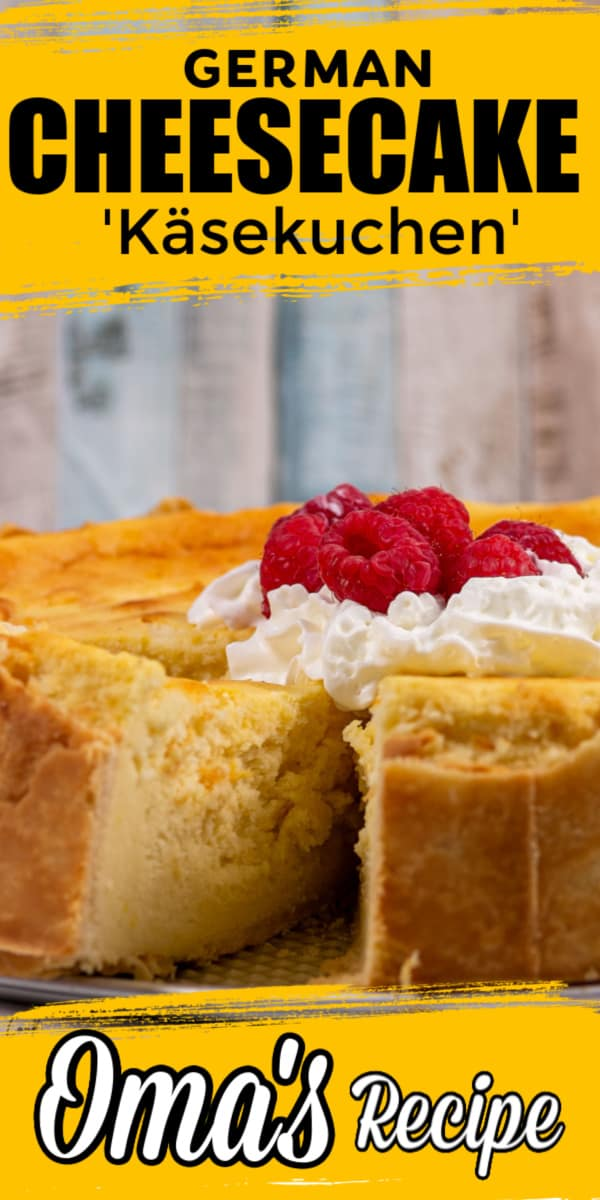 Traditional German Cheesecake (Käsekuchen)