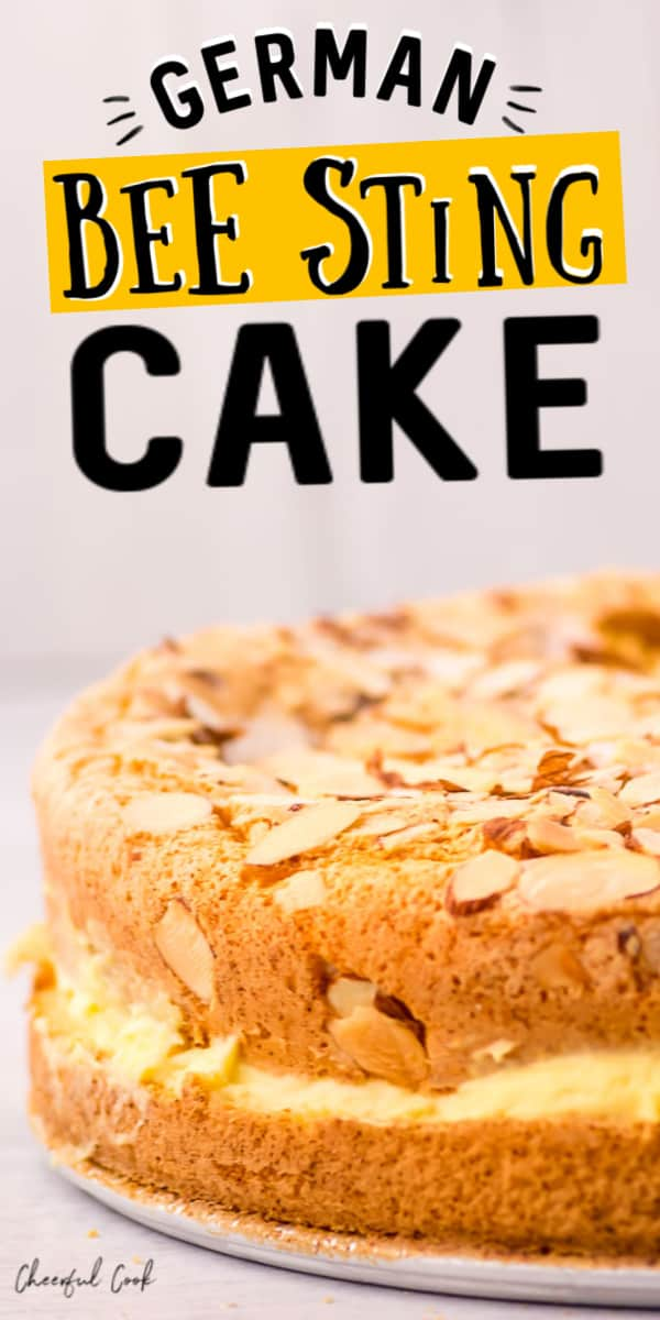 Easy German Bee Sting Cake Recipe