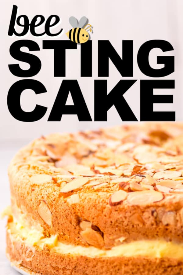 Easy Bee Sting Cake Recipe