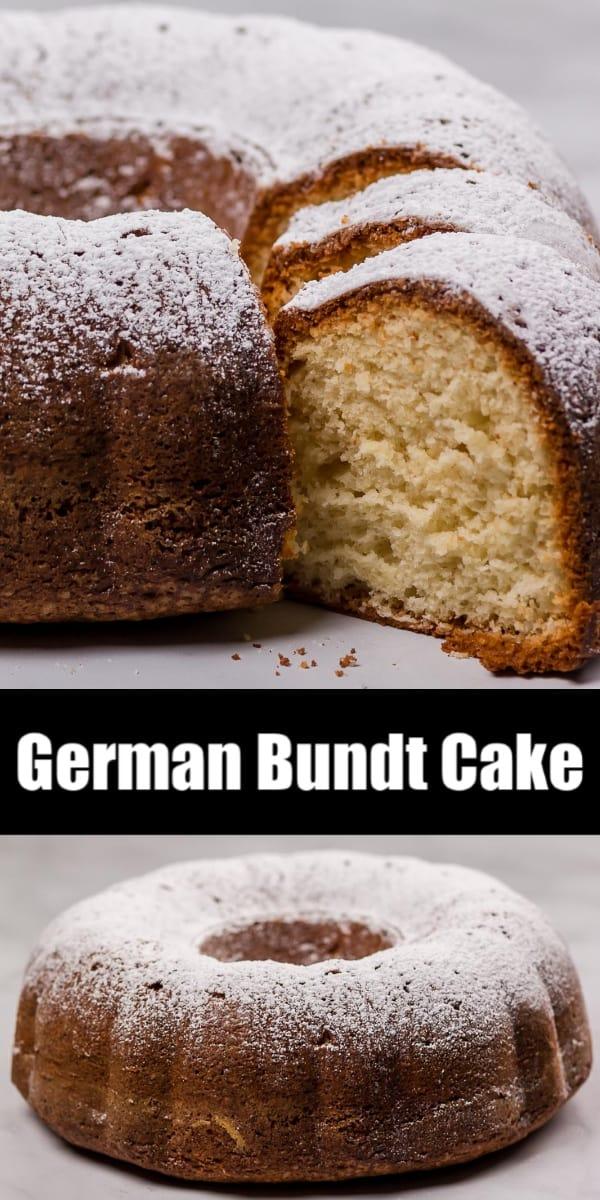 Easy German Bundt Cake Recipe
