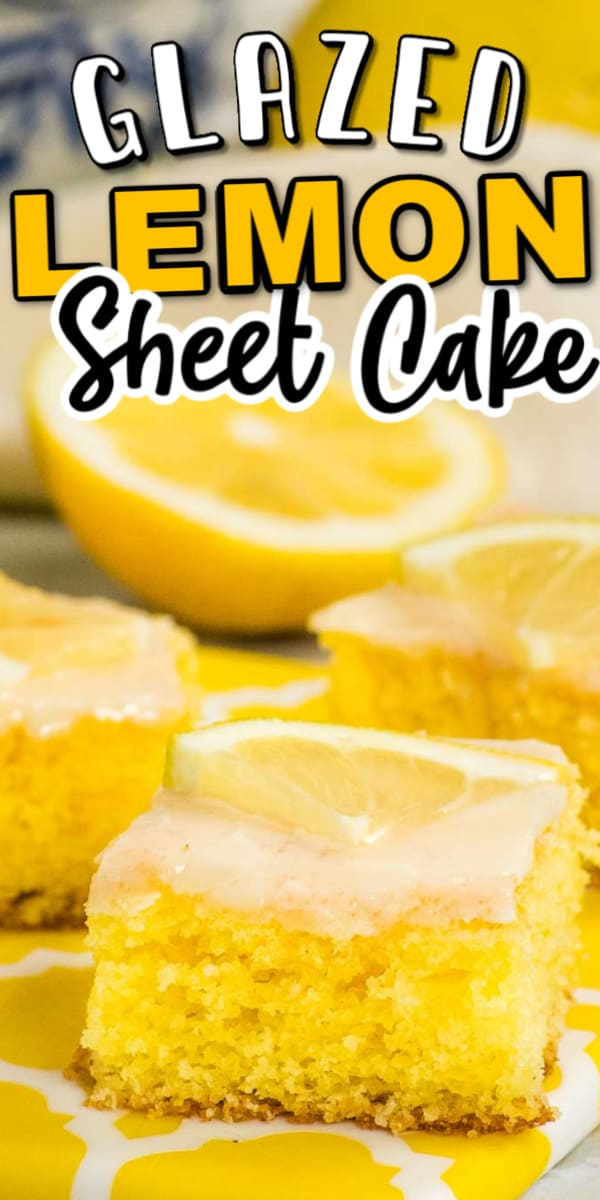 Zitronenkuchen ~ Lemon Pound Cake Recipe