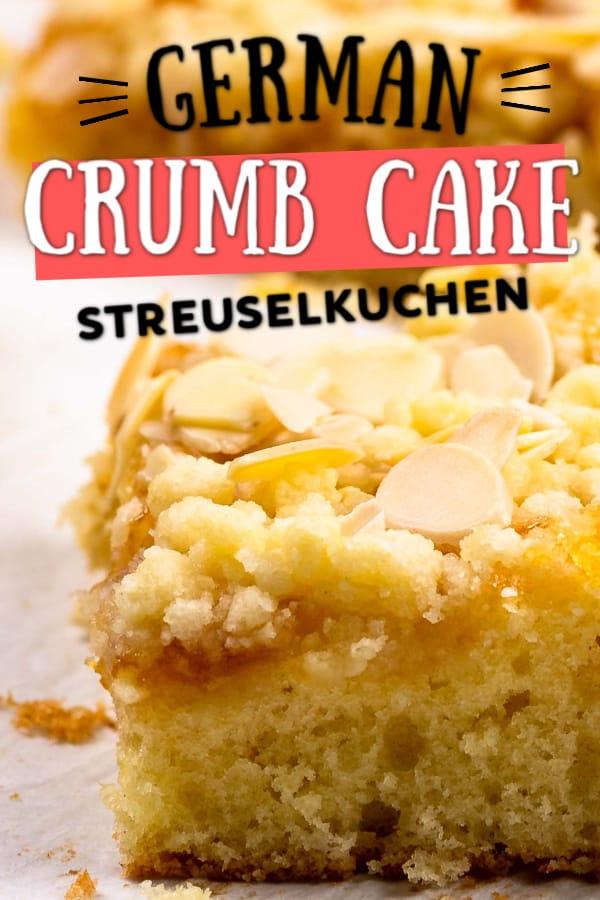 The best German Streuselkuchen (crumb cake)