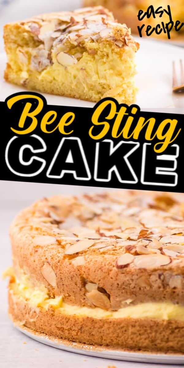 Easy family recipe - German Bee Sting Cake (Bienenstich)