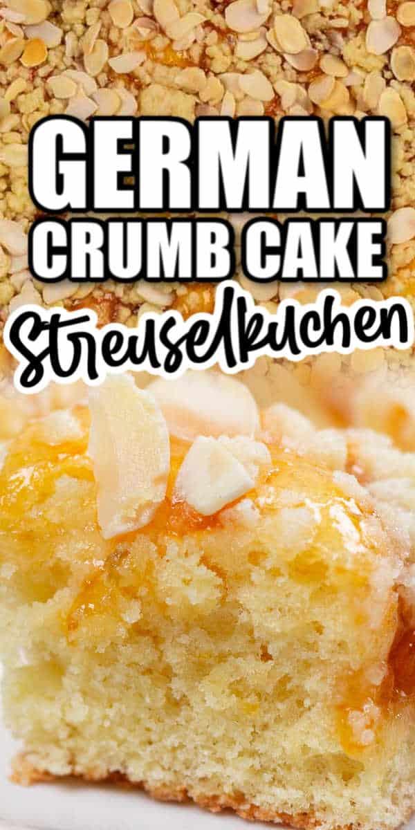 Easy German Crumb Cake Recipe