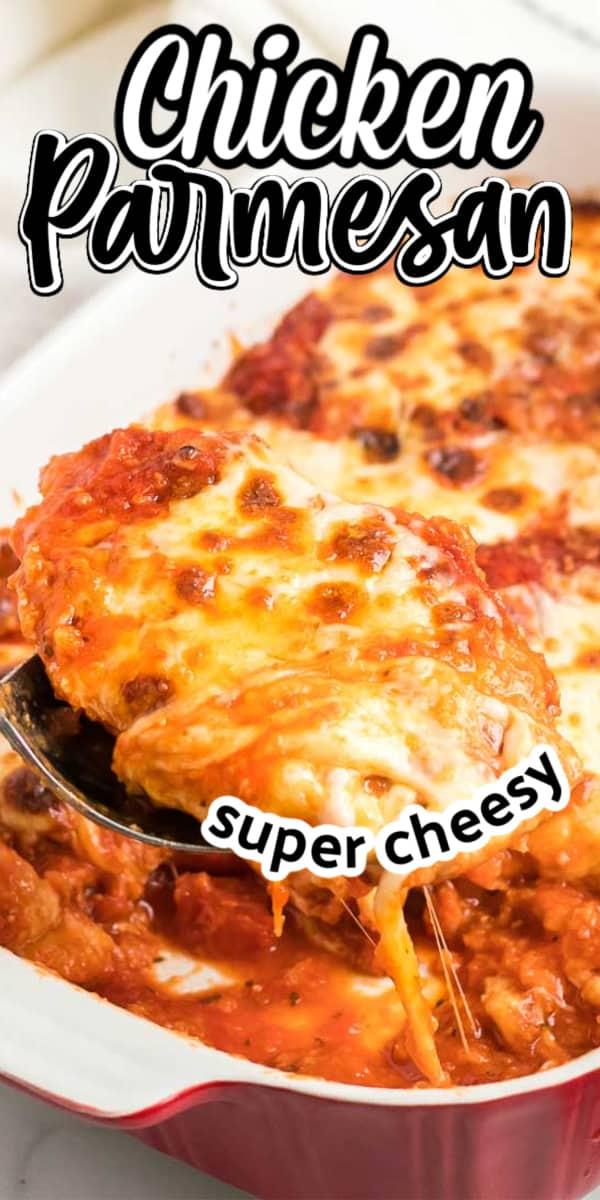 Classic Chicken Parmesan with Spaghetti