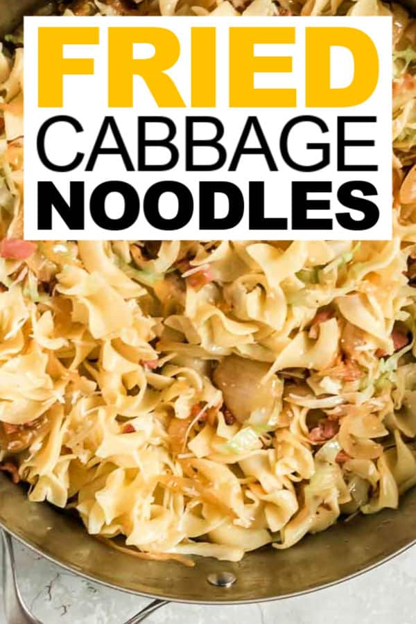 Fried Cabbage Noodles