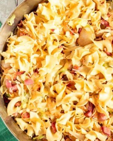 Krauftleckerl - Fried German Cabbage Noodles