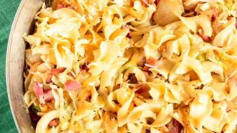 Krauftleckerl - Fried German Cabbage Noodles