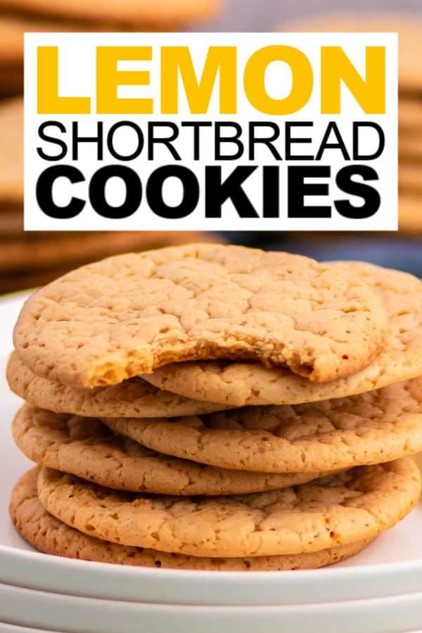 easy Lemon Shortbread Cookie recipe