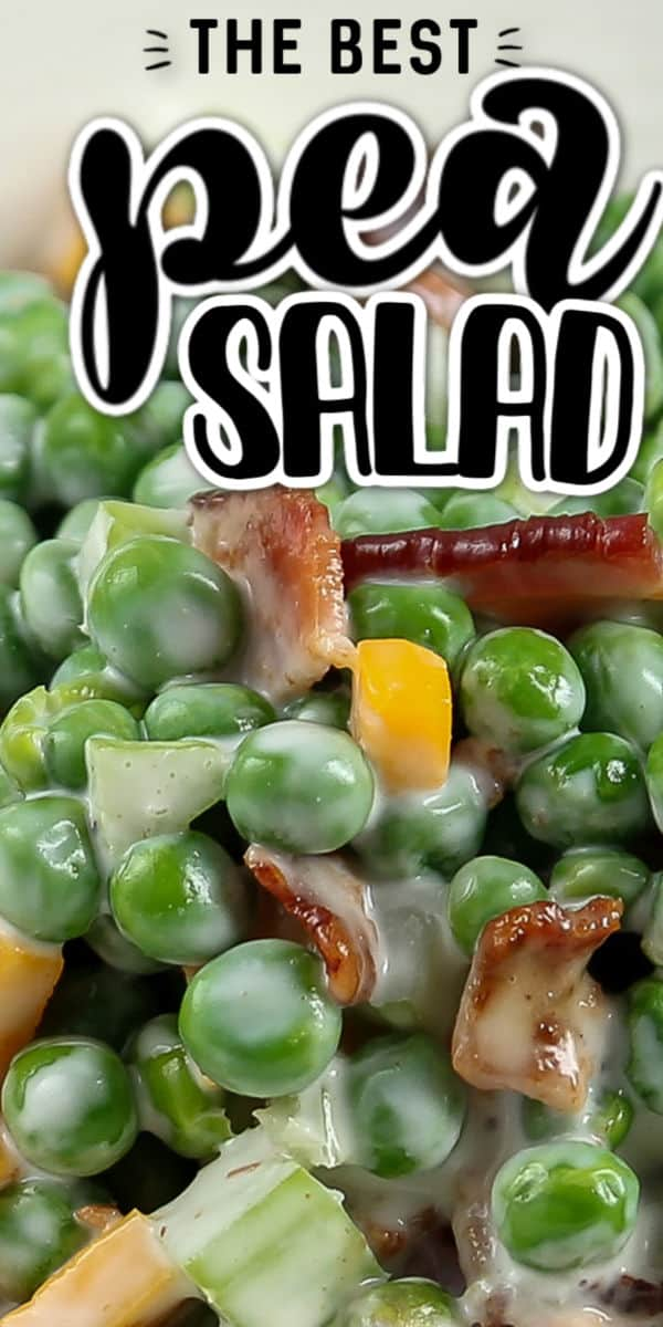 The best homemade Pea Salad