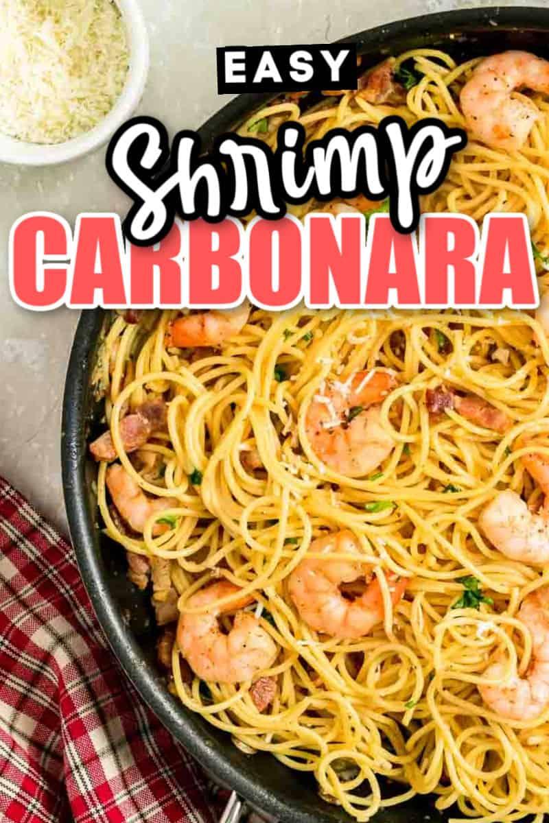 Classic Shrimp Carbonara