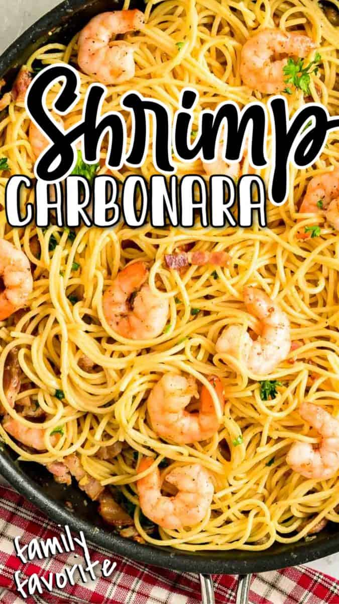 Easy Shrimp Carbonara Recipe