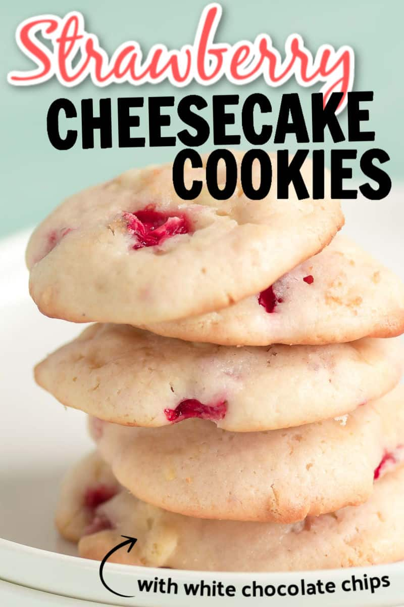 Easy Strawberry Cheesecake Cookies Recipe
