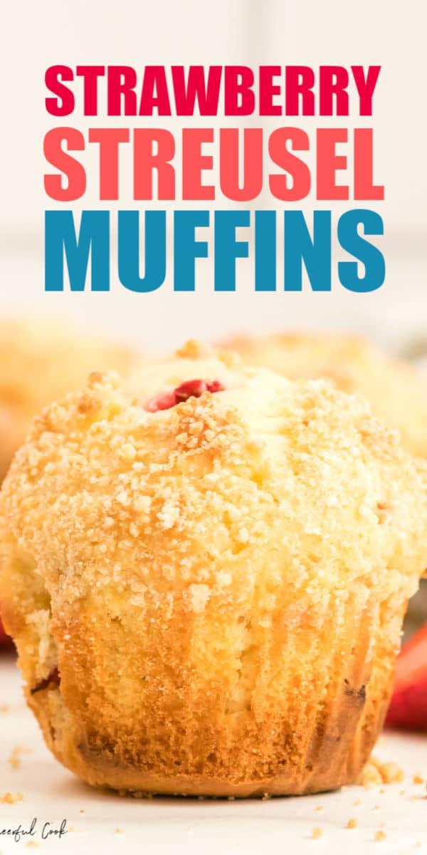 Strawberry Streusel Muffin Recipe