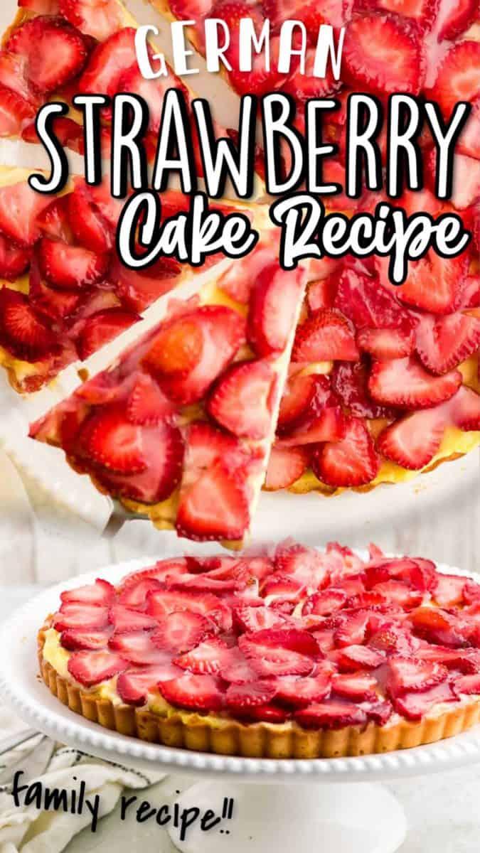 German strawberry cake recipe