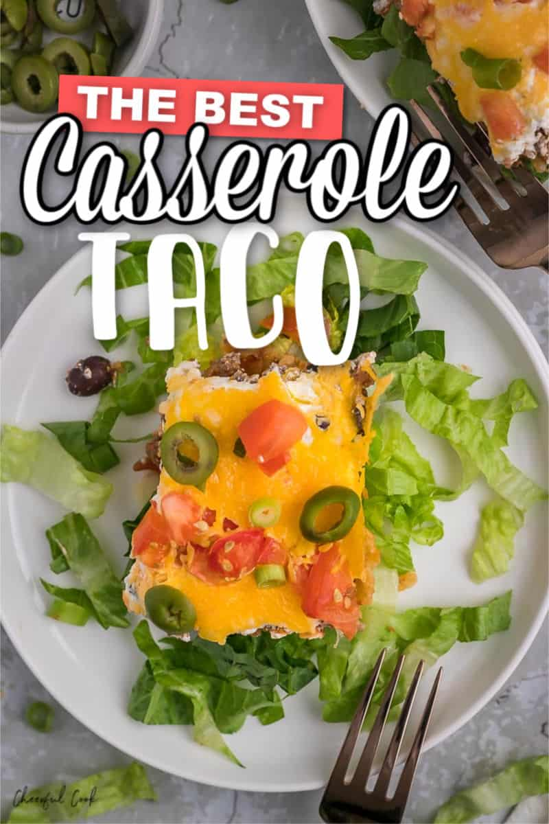 The best homemade Taco Casserole