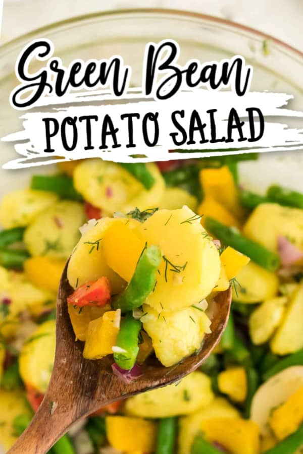 Super Simple Green Bean and Potato Salad