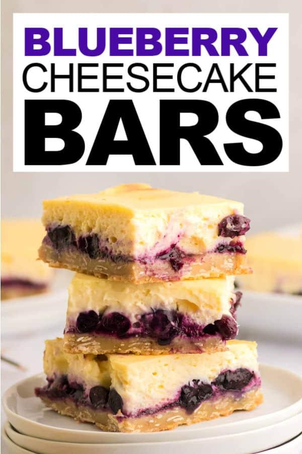 Blueberry Cheesecake Bars