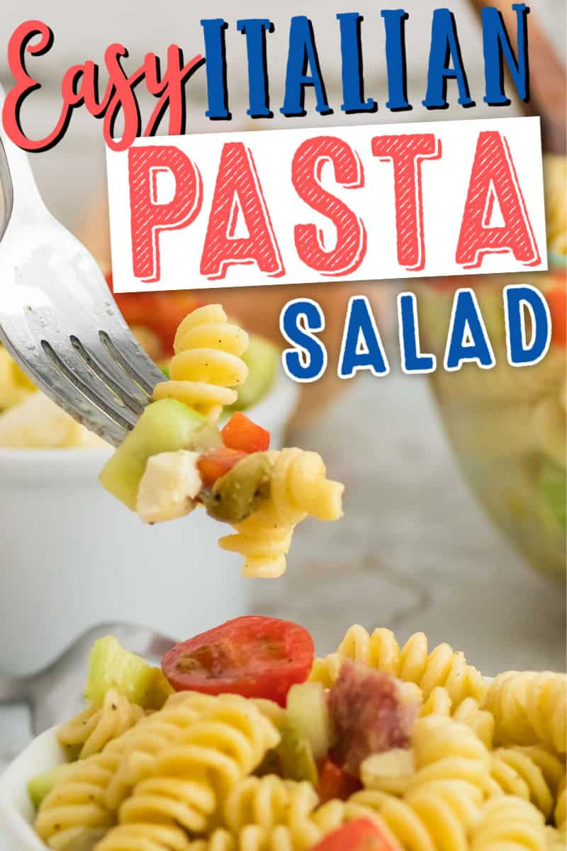 The most delicious and simple to make Italian Pasta Salad Recipe