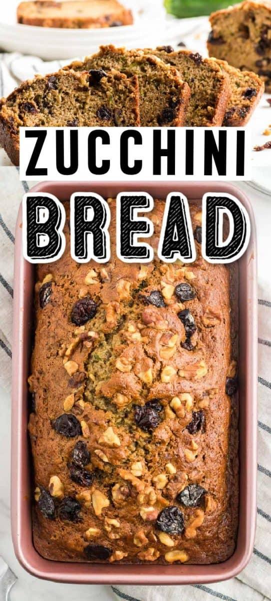 The best homemade Zucchini Bread
