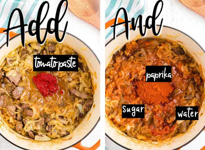 Step 2: How to make Hungarian Goulash