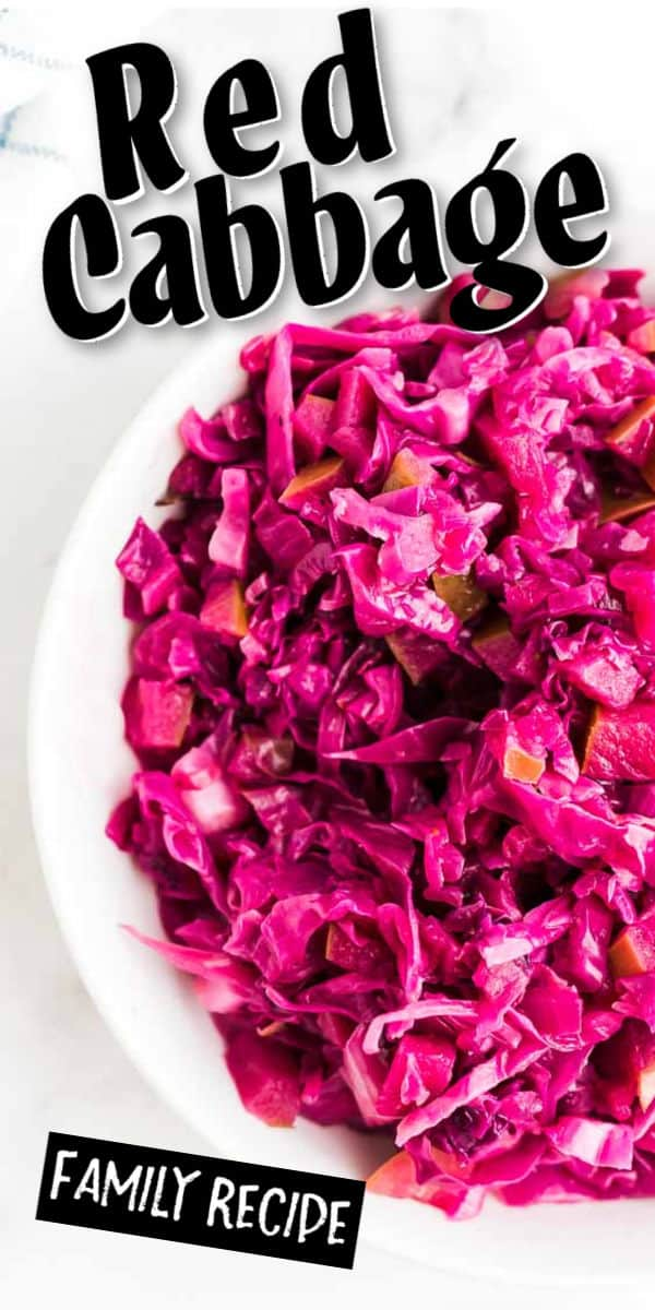 German Red Cabbage - Rotkohl