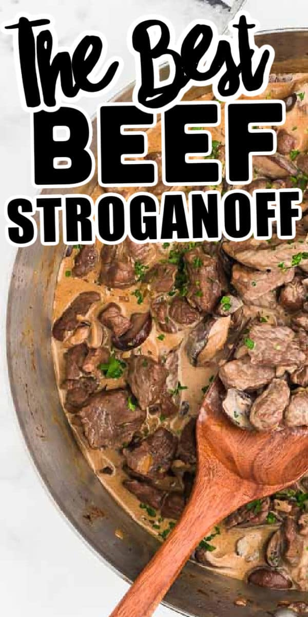 the best Beef Stroganoff Recipe
