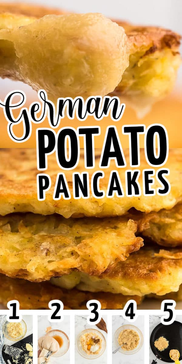 German Potato Pancakes (step-by-step instructions)
