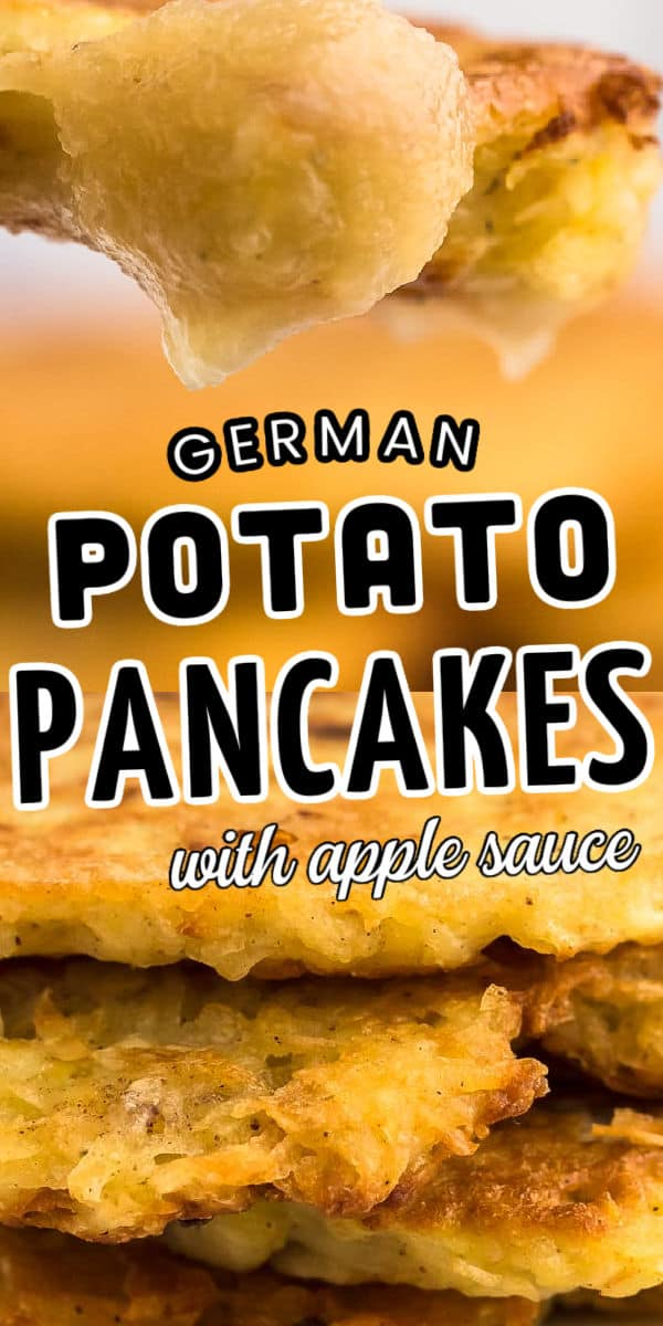 German Potato Pancakes (with apple sauce)