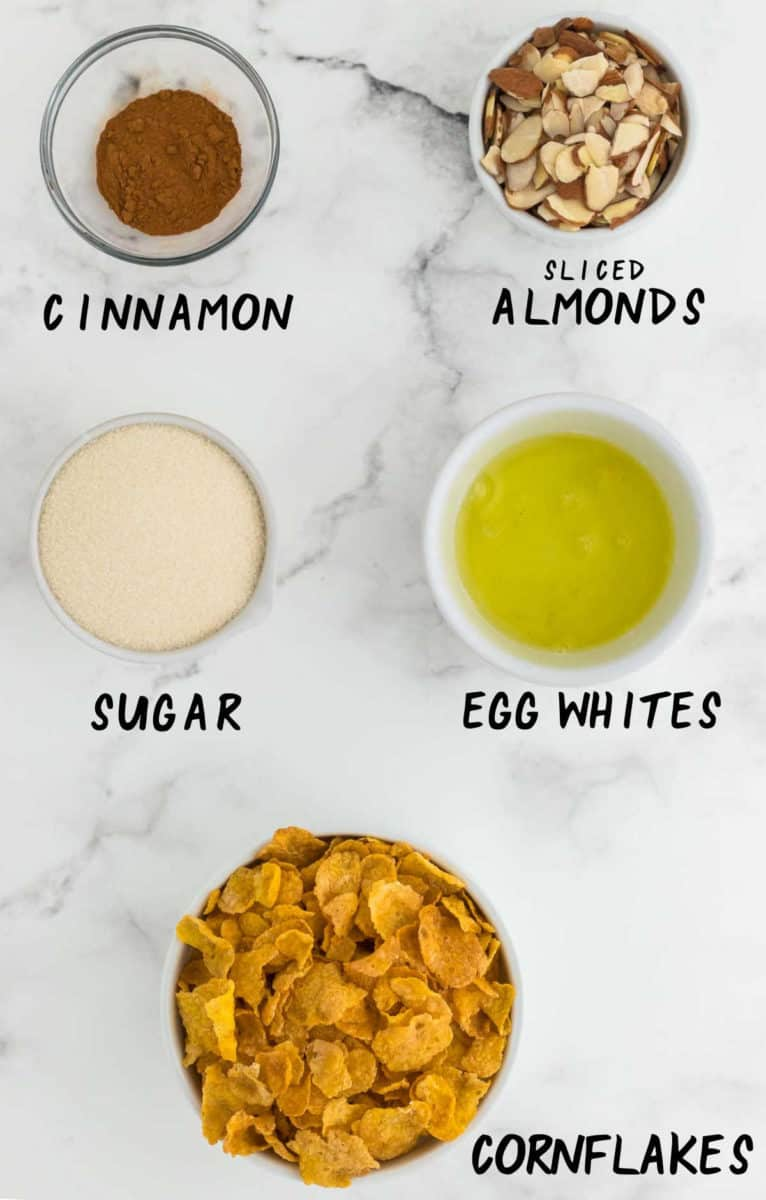 ingredients needed to make cornflake cookies