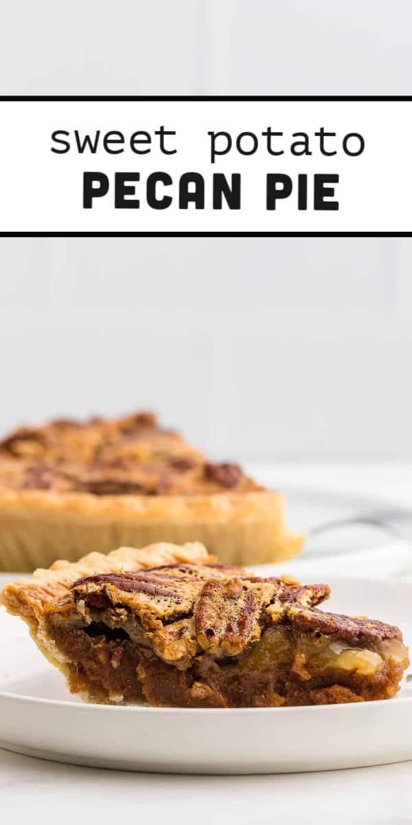 Homemade Sweet Potato Pecan Pie