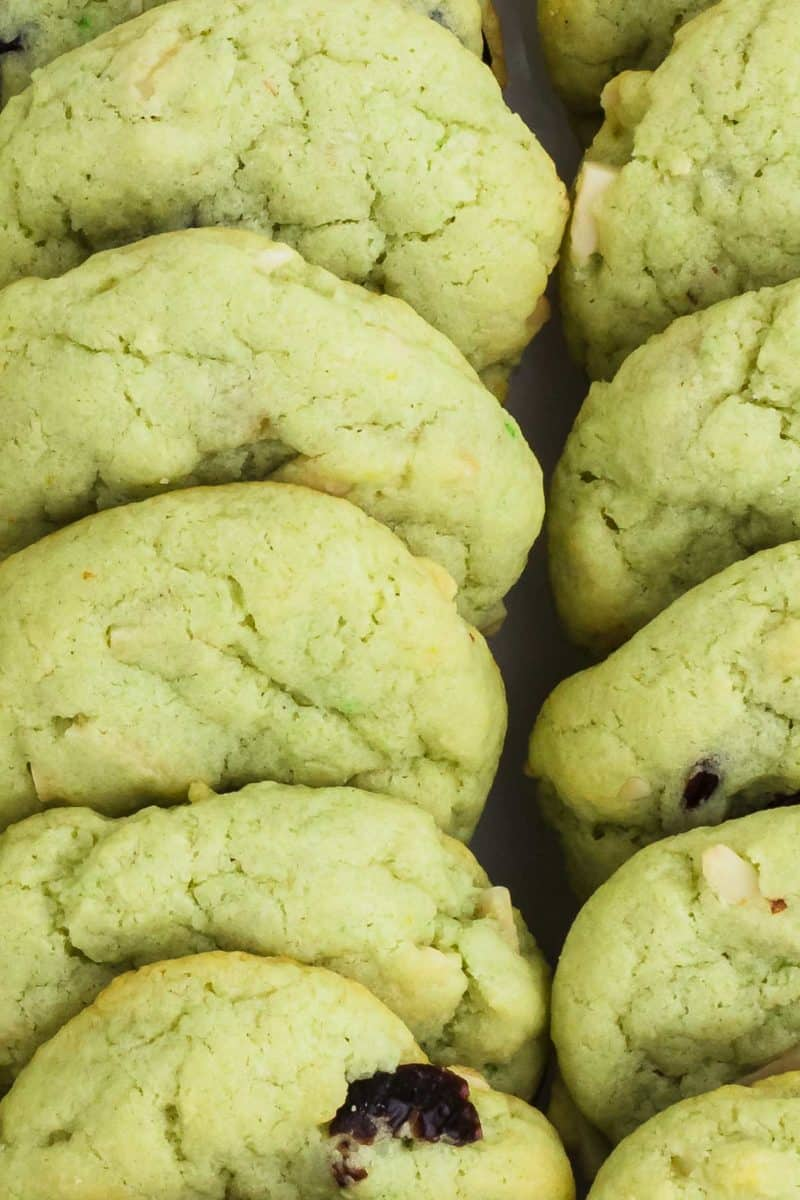 Freshly baked Pistachio Cookies