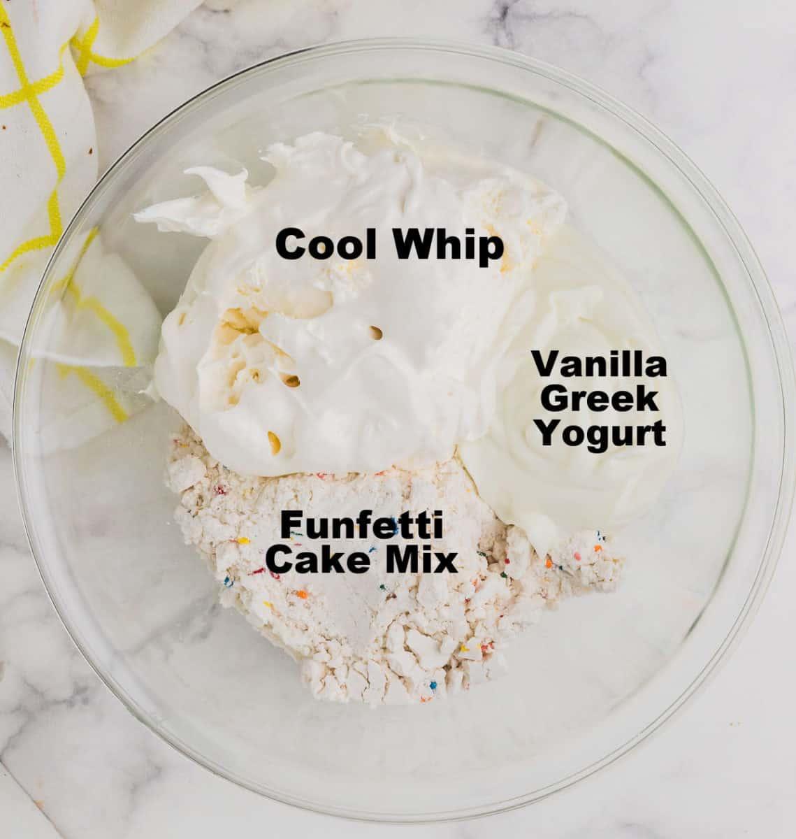 ingredients needed to make a Dunkaoroo Dip
