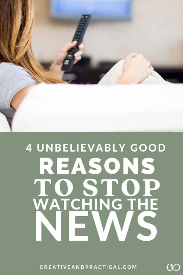 4 great reasons to stop watching the news